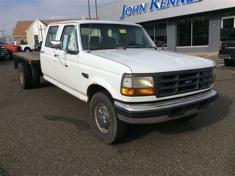 1993 Ford F 350 7.3l IDI Diesel Dually Tow Haul Flatbed