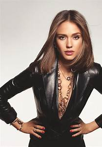 Celebrity Leather Fashions: Jessica Alba, Dark Angel of ...  Jessica