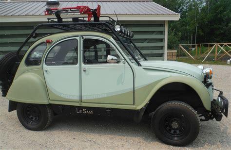 Suzuki Samurai Conversion by 1968 Citroen 2cv Suzuki Samurai 4x4 Conversion Vintage