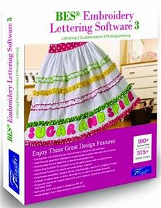 brother sabeslet3 bes 3 embroidery lettering software With brother bes embroidery lettering software