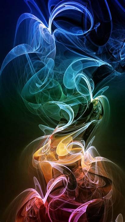 Wallpapers Smoke Neon Mobile Phone Htc 1080