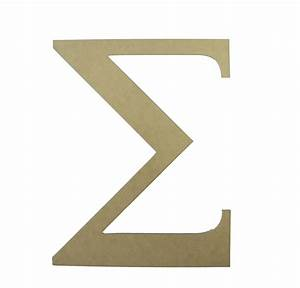Unavailable listing on etsy for Greek letter cutouts