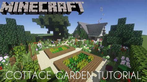 Garden Tutorial minecraft cottage garden tutorial