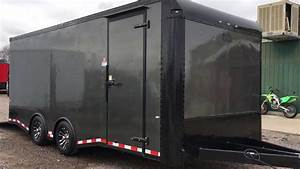 Optimal Towing With This 8 5x20 Spread Axle Cargo Trailer