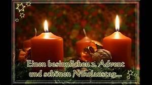 Grüße Zum 2 Advent Lustig : zum 2 advent und nikolaus youtube ~ Haus.voiturepedia.club Haus und Dekorationen