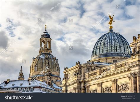 Cupola Albertinum Pheme On Top Church Stock Photo