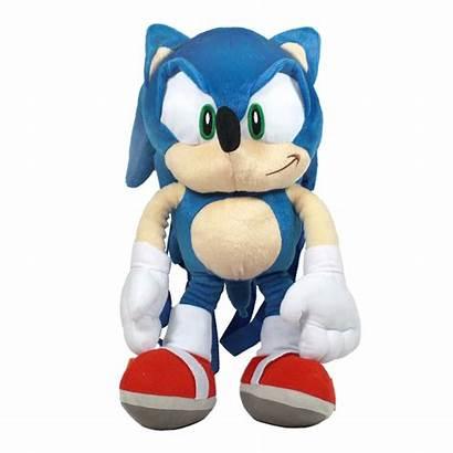 Sonic Hedgehog Plush Backpack Zoom Walmart Innovations