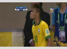 FOTO Neymar le respondió a Gonzáles con un beso volado