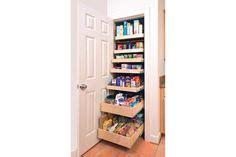 organizing kitchen refridgerator pantry on
