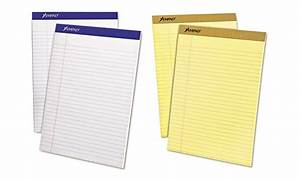 ampad legal ruled letter size writing pads groupon With letter size writing pads