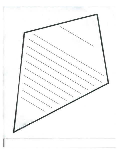 blank kite template