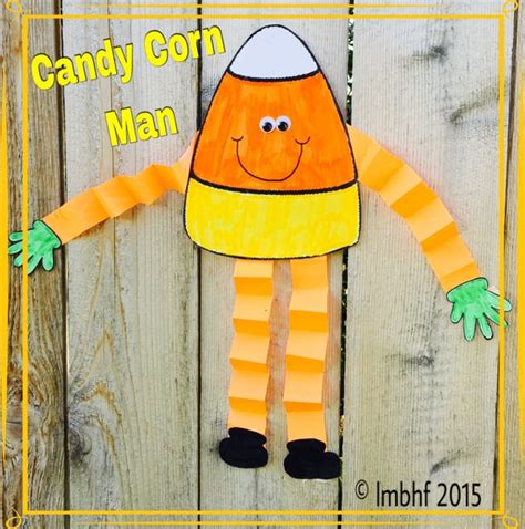 Candy Corn Man Printable Craft  Downloadable Craft For