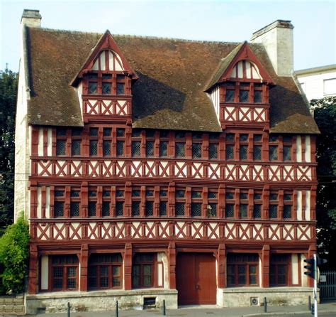 maison de cagne en normandie panoramio photo of caen la maison des quatrans xiv august 2009
