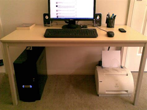 computer desk with built in cable management simple computer desk with cable management home design