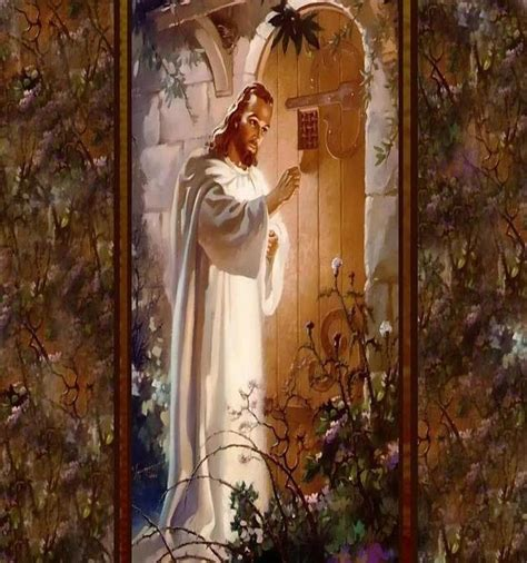 jesus knocking at the door painting 90 best images about king jesus on stained