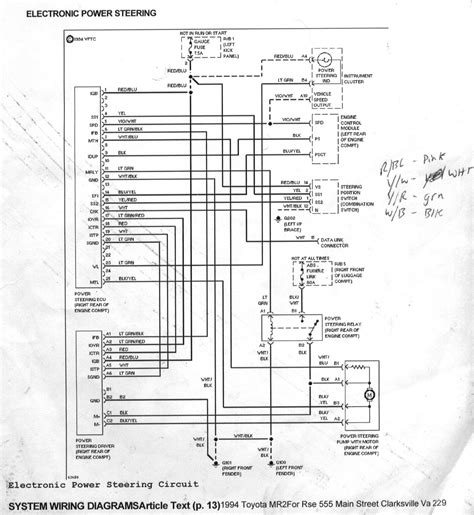 2004 Honda Element Wiring Diagram by Toyota Mr2 Power Steering System