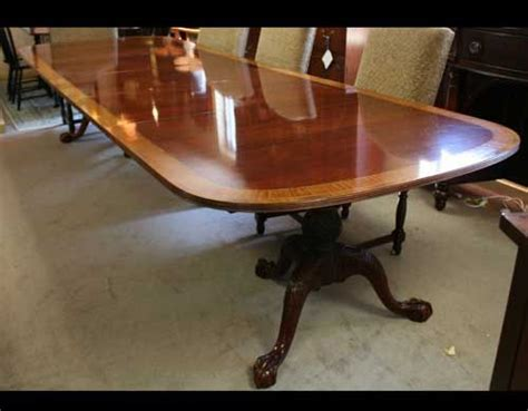 Councill Craftsman Banded Inlay Dining Table