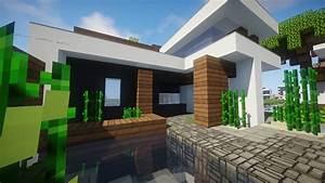 Comment Faire Une Maison : ides de comment faire une maison moderne sur minecraft ~ Dallasstarsshop.com Idées de Décoration