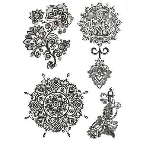 tatouage dentelle mandala tatouage ephemere dentelle