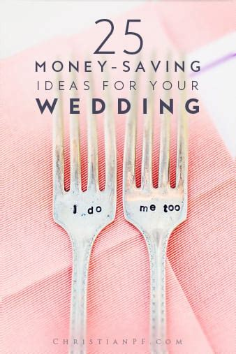 pininterest frugal friendship 25 money saving ideas for your wedding from