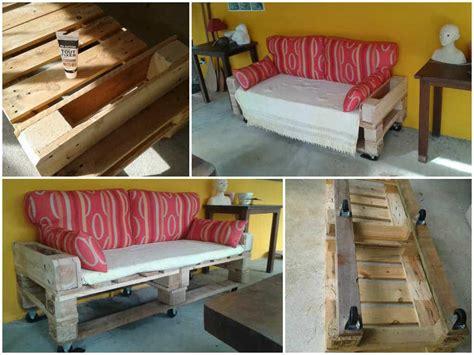canapé de jardin canapé de jardin en palettes pallets garden sofa 1001