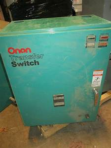 Onan 125 Amp 480 Volt Automatic Transfer Switch