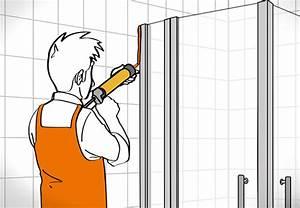 Silikon Von Fliesen Entfernen Mit Aceton : duschkabine einbauen in 6 schritten obi zeigt wie es geht ~ Frokenaadalensverden.com Haus und Dekorationen