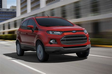 ford crossover ford ecosport small crossover confirmed for north america