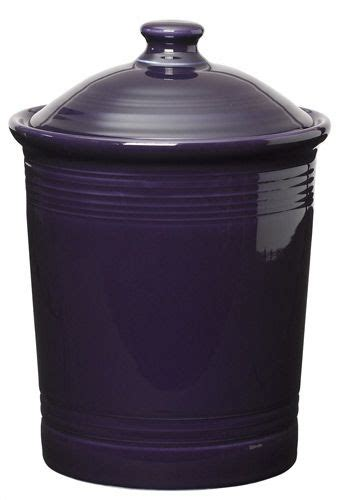 Plum Fiesta Kitchen Canister, Large  Kitchen And Dining