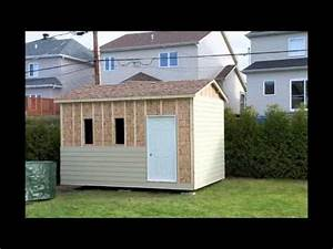 mon cabanon rona youtube With plan garage bois gratuit