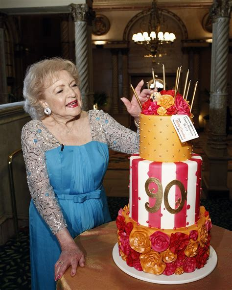 betty whites  birthday cake photo trae pattonnbc