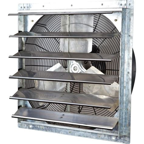 variable speed exhaust fan iliving 4200 cfm power 24 in variable speed shutter