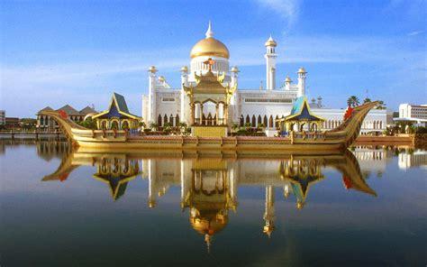 sultan omar ali saifuddin mosque bandar seri begawan