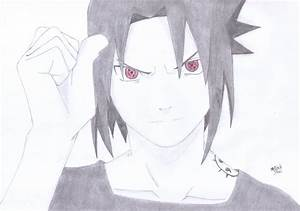 Sasuke Uchiha (Naruto) by BlackStarLGArt on DeviantArt