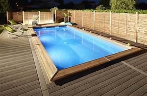 620002218 piscine maeva 500 rectangle avec echelle With piscine avec liner gris clair 1 nos realisations avec liner gris clair reynaud piscines