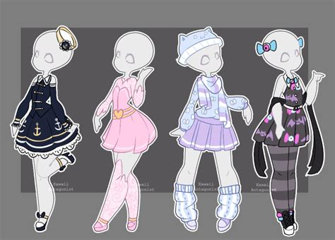 Gacha Outfits 16 By Kawaii-antagonist.deviantart.com On