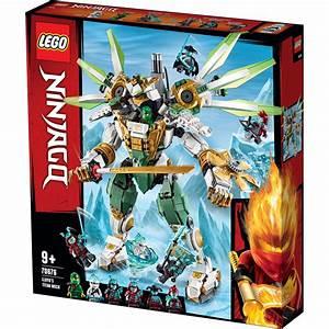lego ninjago lloyd 39 s titan mech building set 70676 ebay