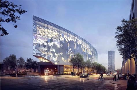 Calgary's New Central Library Visualizations By Mir