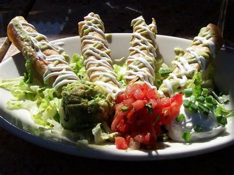 Cheesecake Factory .... Chicken taquitos are the best ...