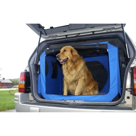 large travel crate dimensions portable collapsible crate kennel travel pet crates