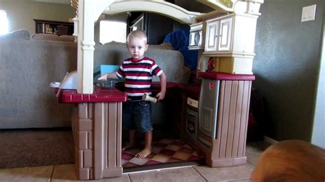 step 2 walk in kitchen and grill step2 grand walk in kitchen grill playset in