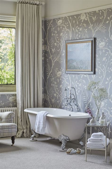 wallpaper in bathroom ideas bathroom wallpaper ideas peenmedia com