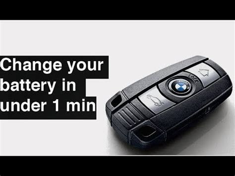 Change For Bmw by How To Change Replace Bmw Key Fob Battery 1 3 5 6 Series
