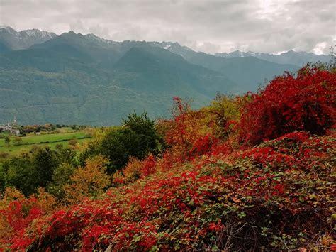 Fall In Valtellina Italy Hiking