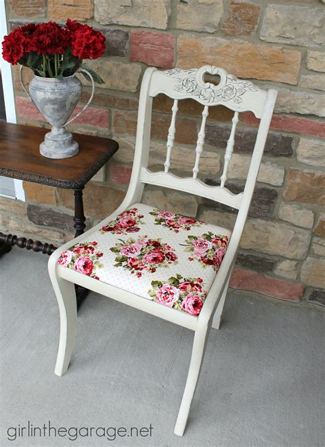 shabby chic vintage chairs shabby chic chair makeover girl in the garage 174