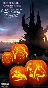 Free, Dark, Crystal, Pumpkin, Carving, Stencils