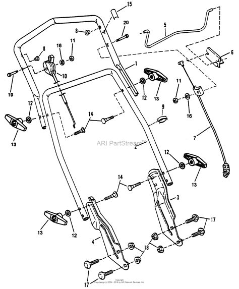 Snapper Mower Series Parts Diagram For