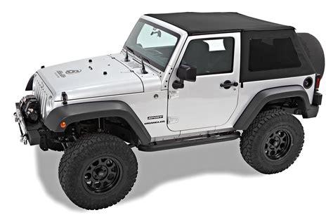jeep wrangler 2 door soft top bestop 56922 17 trektop nx twill soft top for 07 17 jeep
