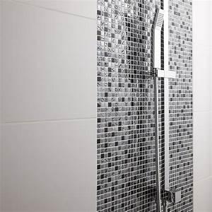 carrelage salle de bain noir et blanc With salle de bain mosaique noir