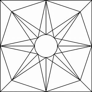 Geometric Block Pattern 71 | ClipArt ETC